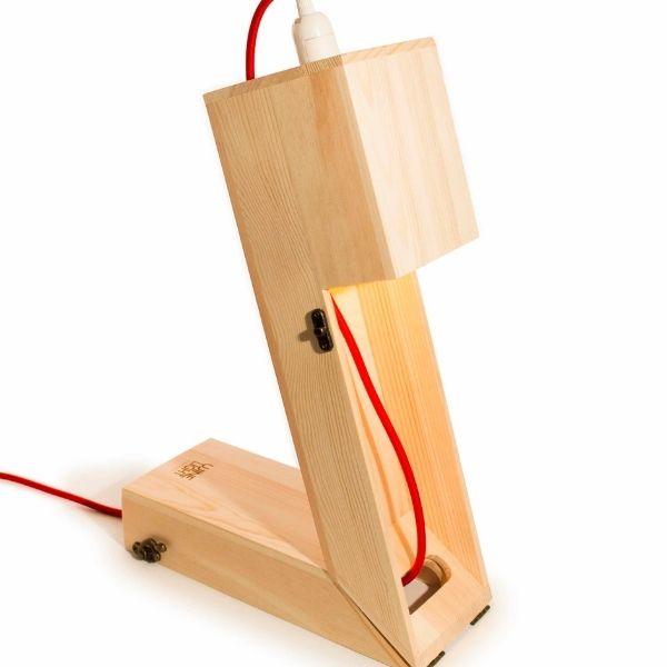 Caja madera fsc regalo botella vino y lampara 7