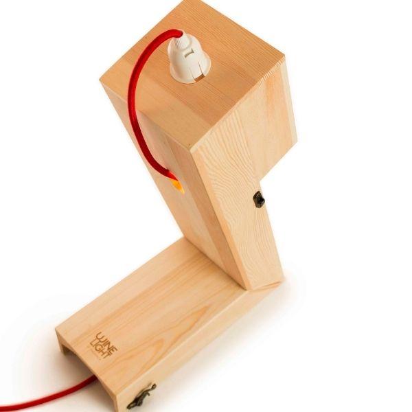 Caja madera fsc regalo botella vino y lampara 8
