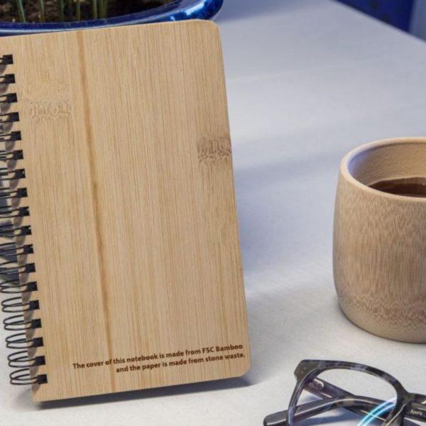 Cuaderno bambú y papel piedra 2
