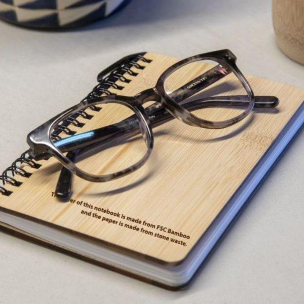 Cuaderno bambú y papel piedra 3
