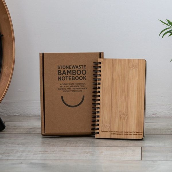 Cuaderno bambú y papel piedra 5
